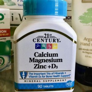 الكالسيوم والماغنسيوم والزنك