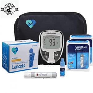 جهاز قياس السكر كونتور Next EZ meter افضل جهاز لقياس مستوى السكر