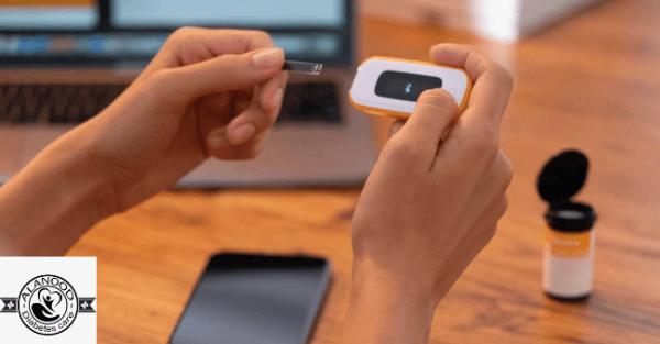 جهاز مراقبة معدل جلوكوز الدم اللاسلكي لمتابعة نسبة سكر الدم