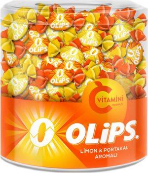 أوليبس فيتامين سي بنكهة الليمون والبرتقال