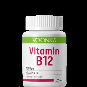 فونكا فيتامين ب 12 1000 مجم 102 قرص Voonka